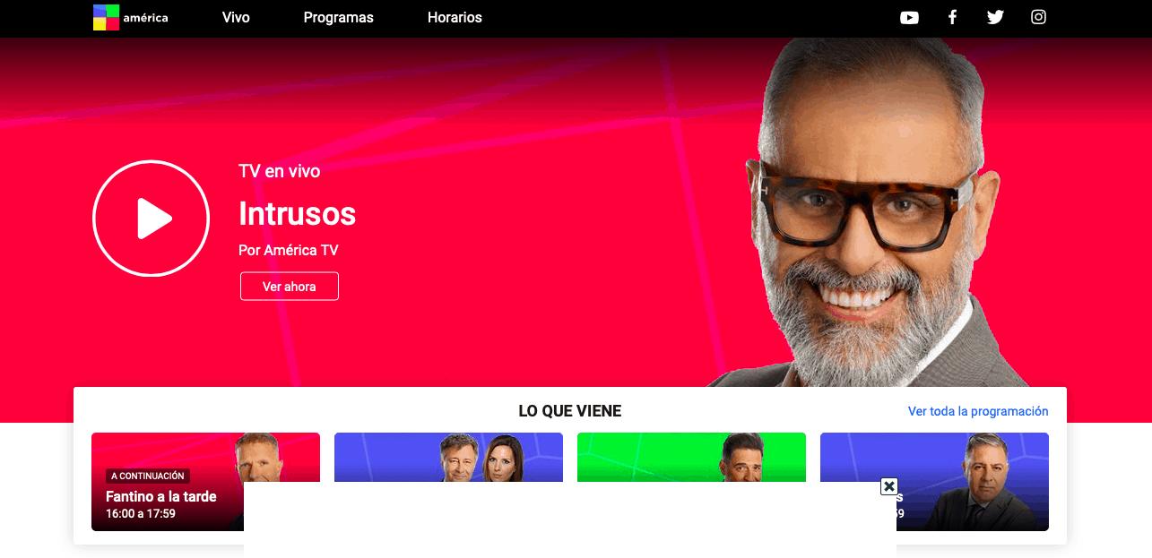 Argentinisches TV America 2