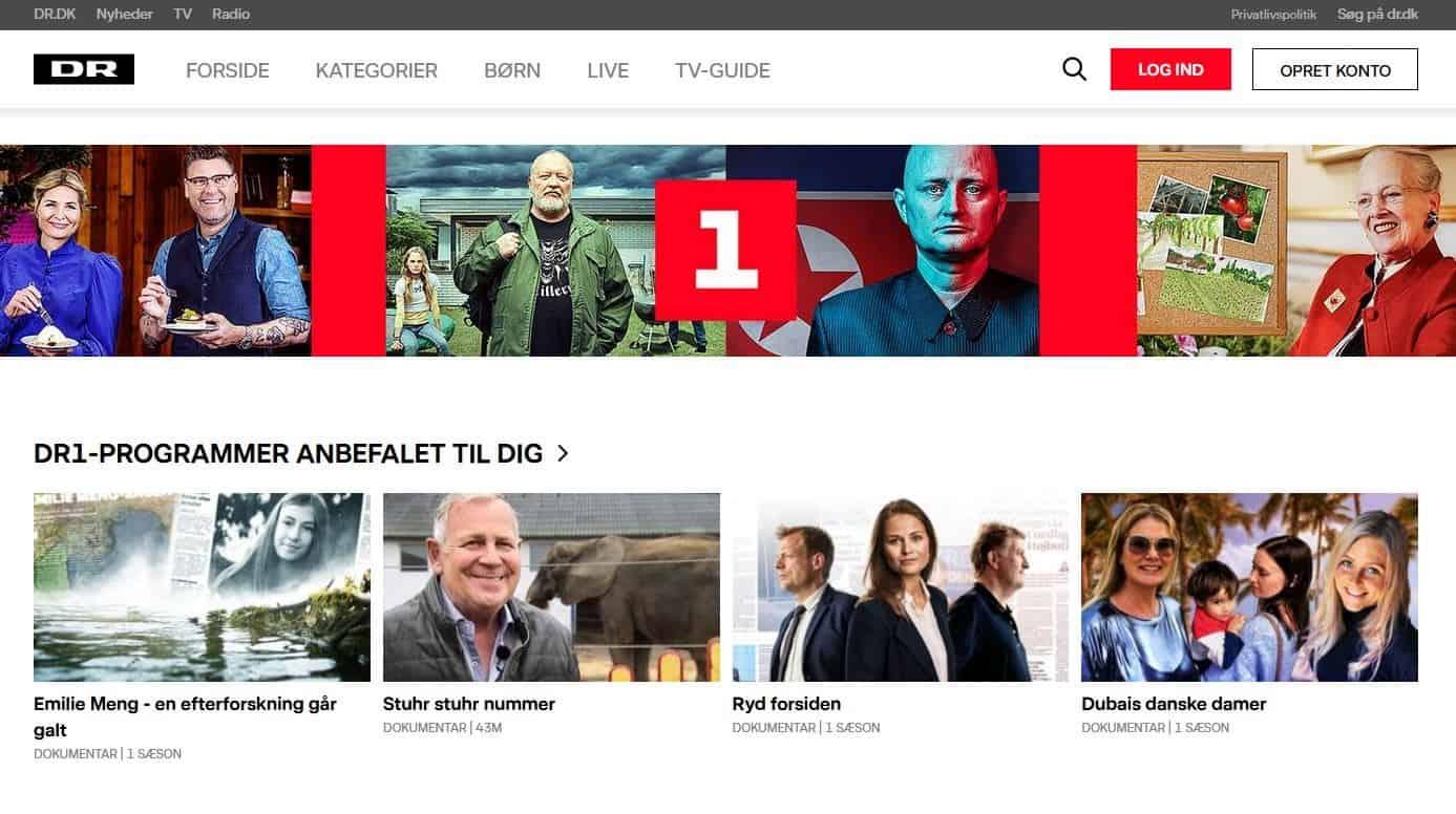 Daenisches Fernsehen DR1