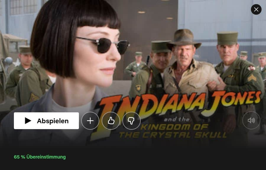 Netflix Indiana Jones and the Kingdom of the Crystal Skull