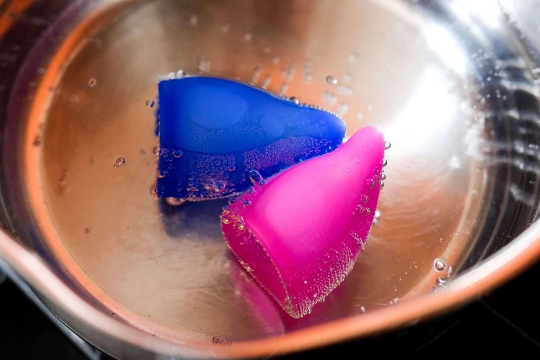 Menstruationstasse einfuehren waschen