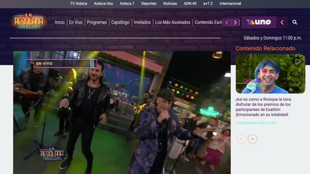 Mexikanischer TV Sender Azteca Uno