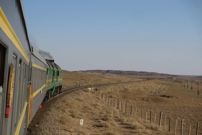 Nachhaltig Reisen Transsibirische Eisenbahn