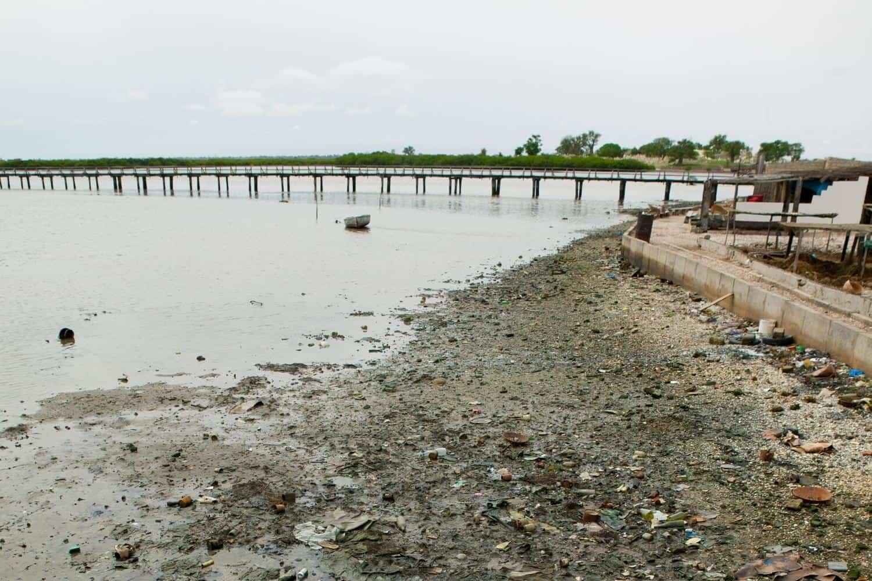 Nachhaltig Reisen Verschmutzte Region