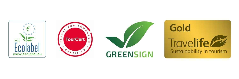 Nachhaltig Reisen Zertifikate