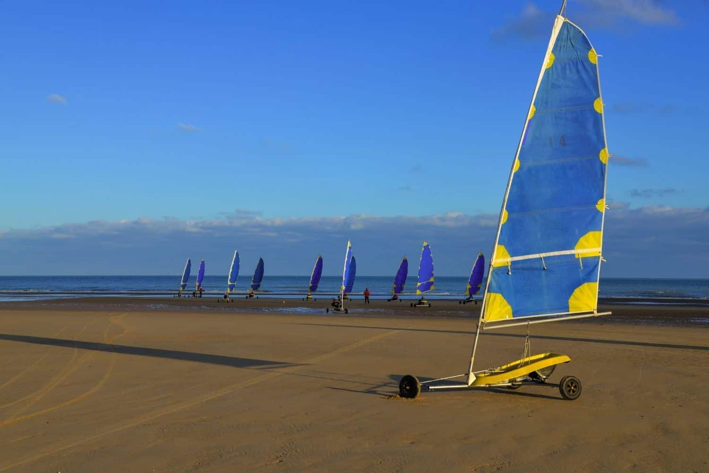 Nordsee Urlaub Strandsegeln Sankt Peter Ording