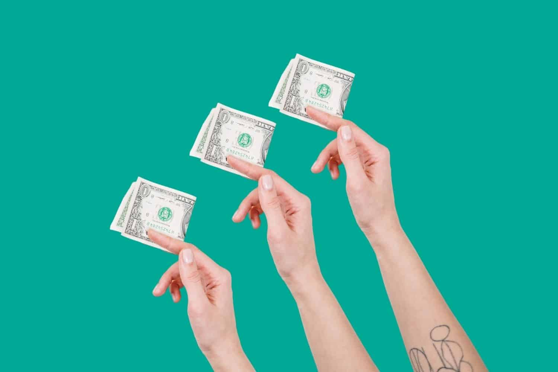 Reise Kreditkarte Geld Abheben Amerikanische Dollar