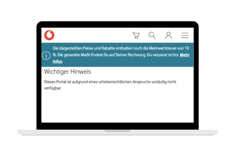 Vodafone Kinox.to Sperre Umgehen Hinweis