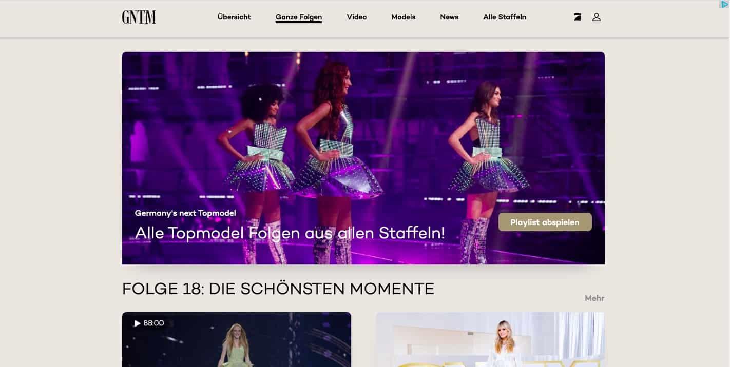 Germany's Next Top Model im Ausland