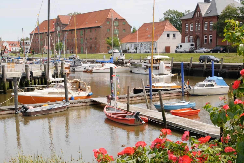 Sankt Peter Ording Hafen Toenning