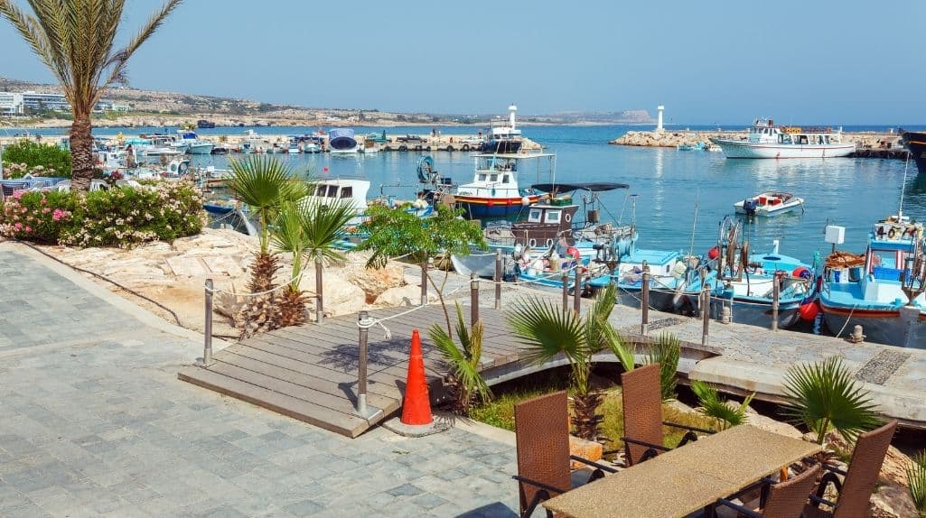 Cafe auf Zypern