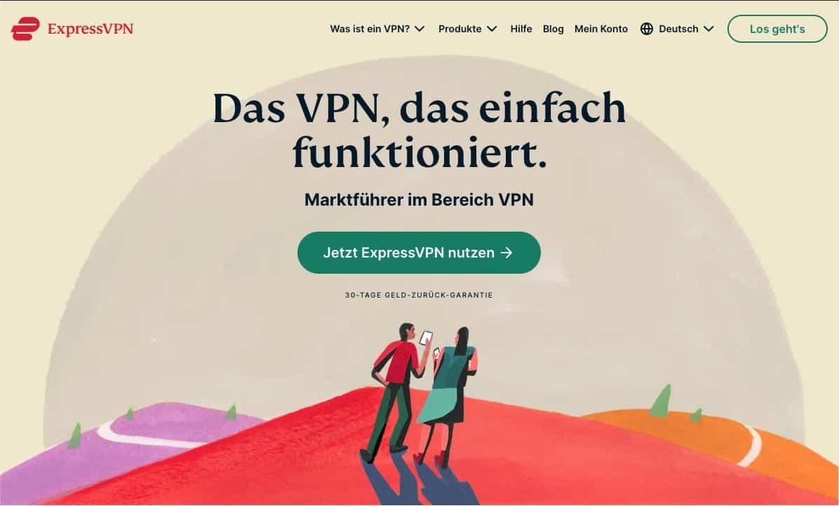 ExpressVPN Homepage 2021