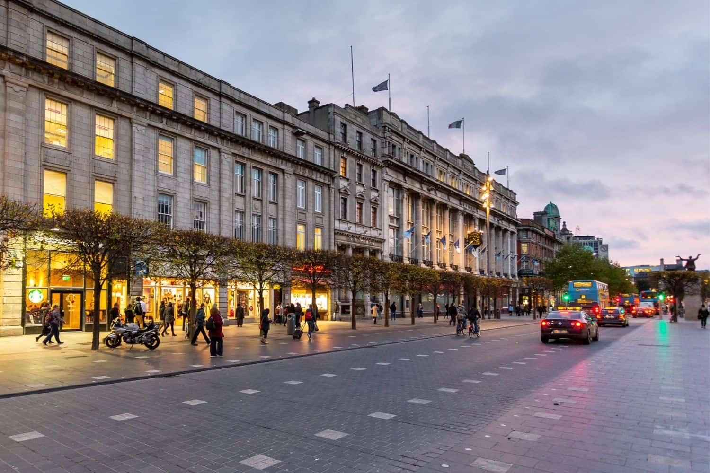 Dublin Irland Downtown
