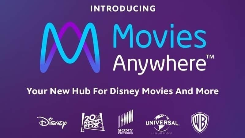 Movies Anywhere Disney Hub