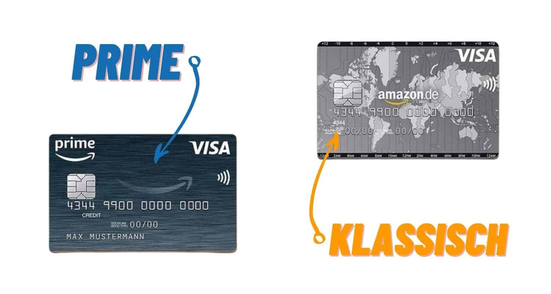 Amazon Prime Visa Karte vs Klassiche Visa Karte