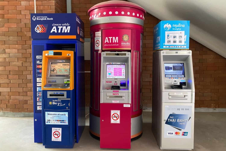 Bankautomaten Thailand Fremdwaehrung