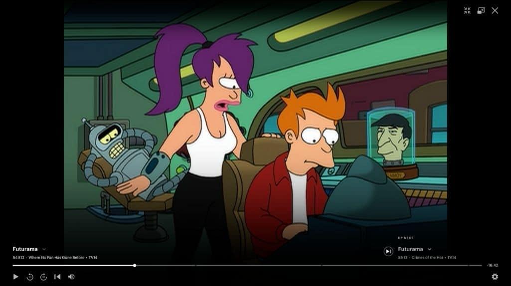 Futurama Bender Leela Fry