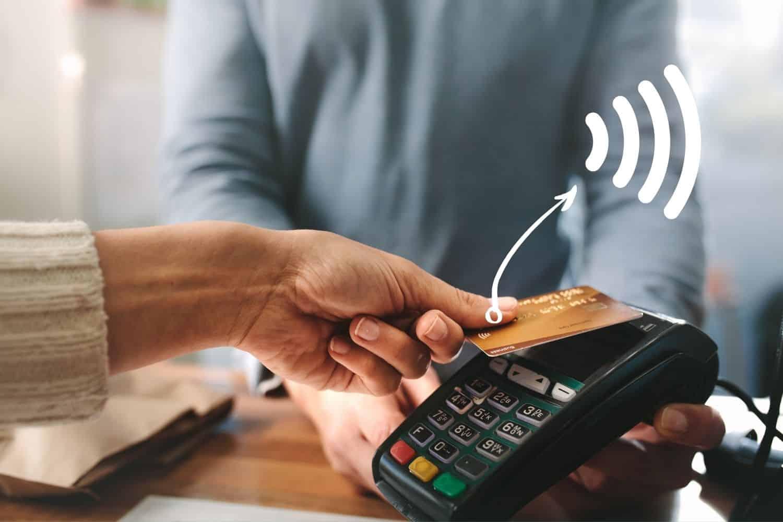 Kreditkarte Kontaktlos Symbol