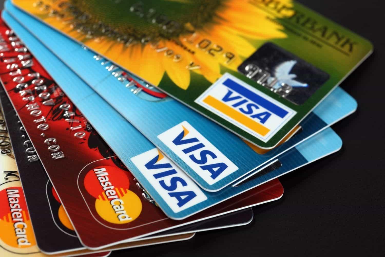 Kreditkarte Mastercard Visacard Gemeinsam