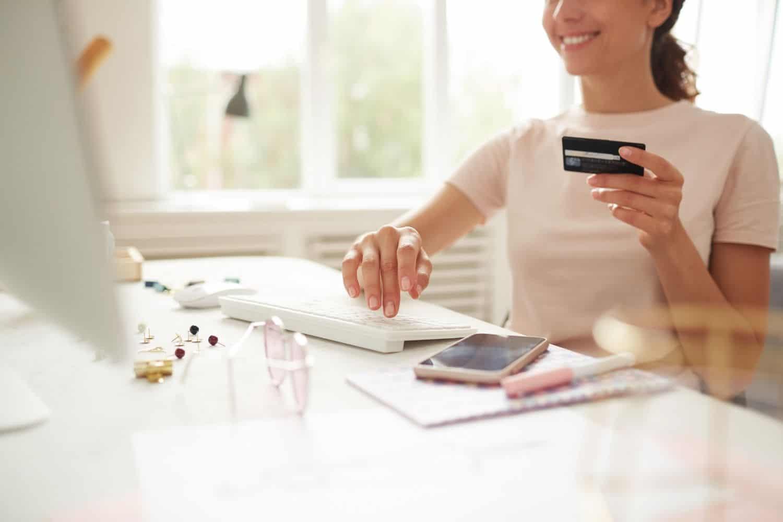 Kreditkarte Online Shopping