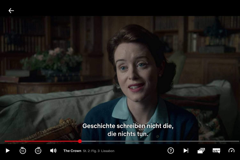 Netflix The Crown Deutsch