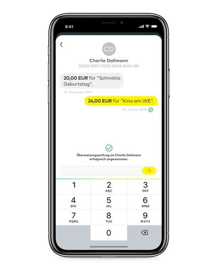 Comdirect Mobiles App Ueberweisen