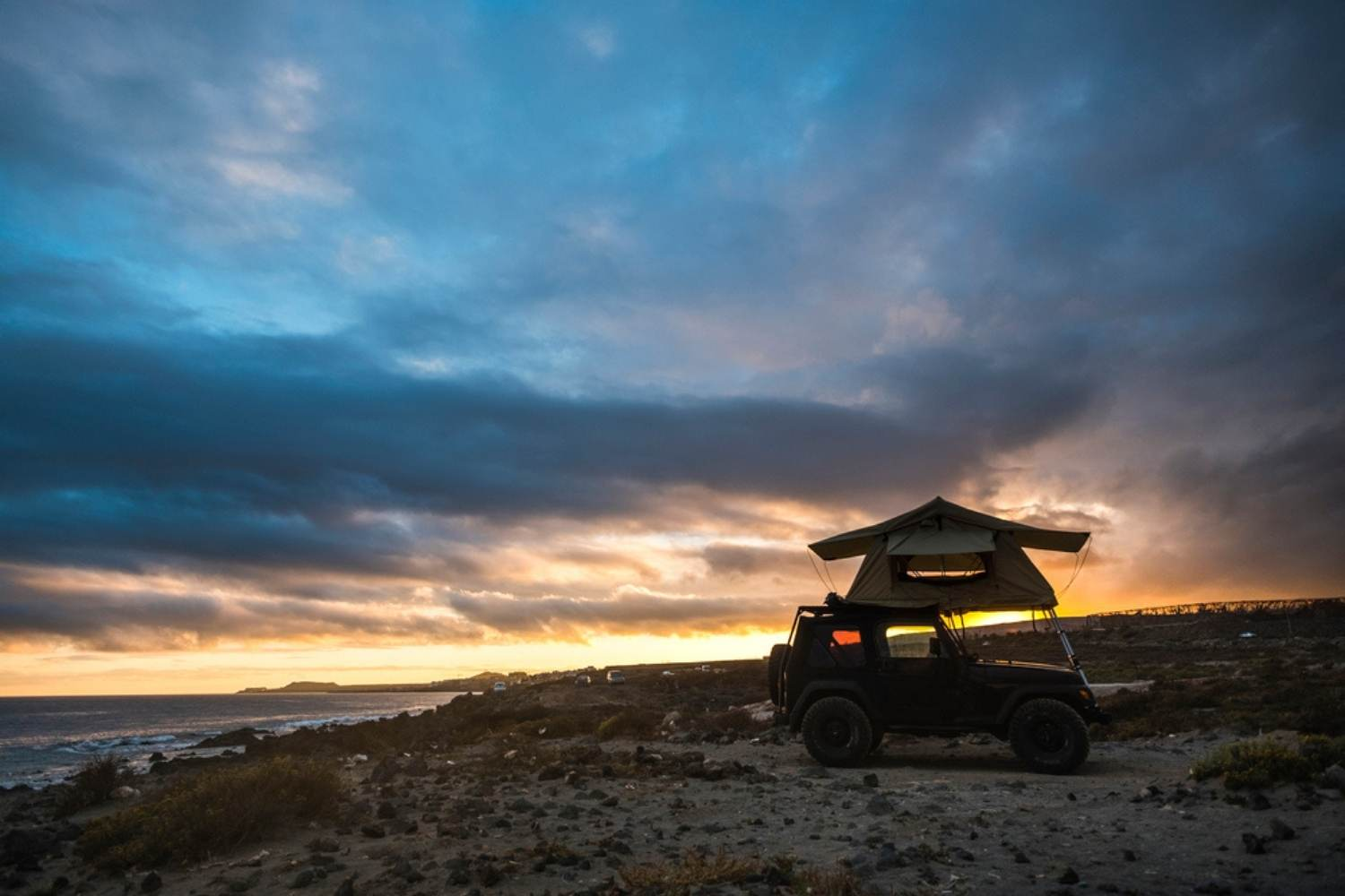 Autozeltdach Nordsee Camping
