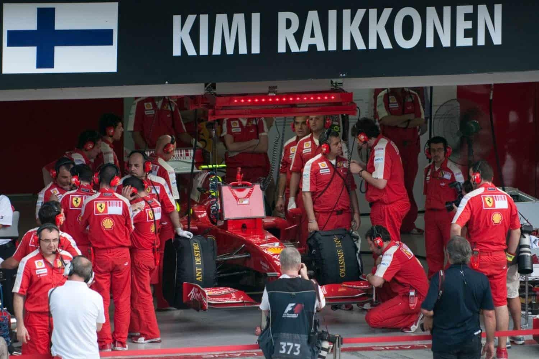Kimi Raikkoenen Formel 1