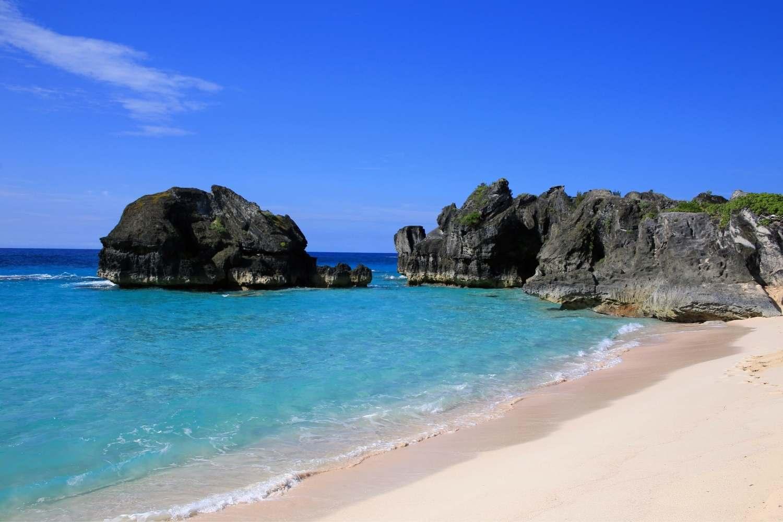 Strand auf den Bermudas