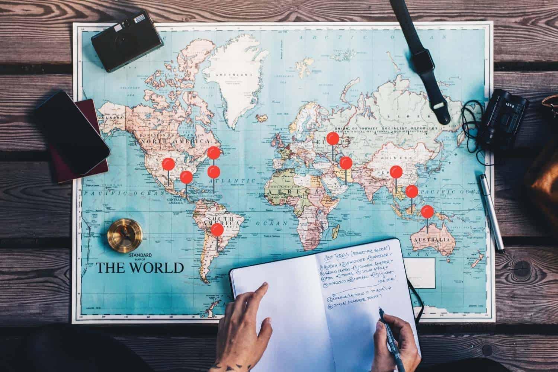 Top 10 Working Visum Laender