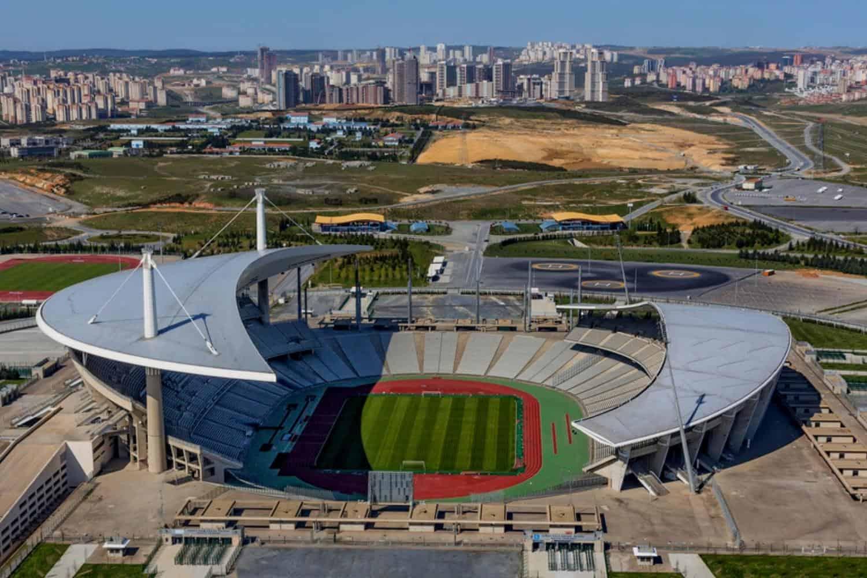 UEFA Finale Tuerkei Olympiastadion